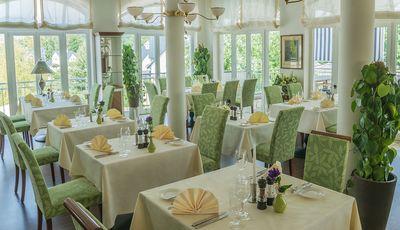 Restaurantbestuhlung von pemora im Resort Schwielowsee