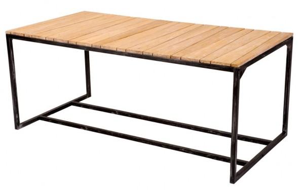 Tisch MANDAS Bauholz Altholz  180 x 90 cm