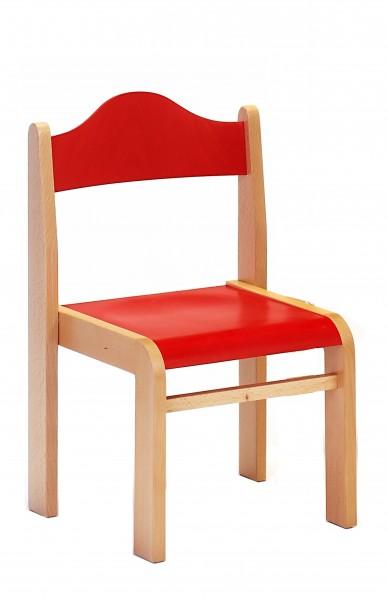 Stabiler Kinderstuhl | Holzstuhl ADAMO - stapelbar