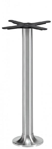 Edelstahl Stehtischgestell NAVEX IX für Bodenmontage