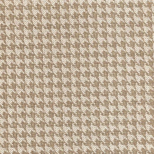 Stoff mit Pepita-Muster PEP14 grau-beige