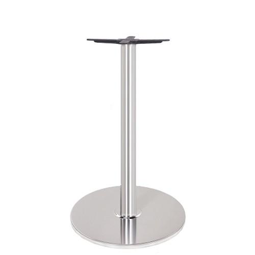 Tischfuß   Tischbein aus Edelstahl für Restaurants und Bistros