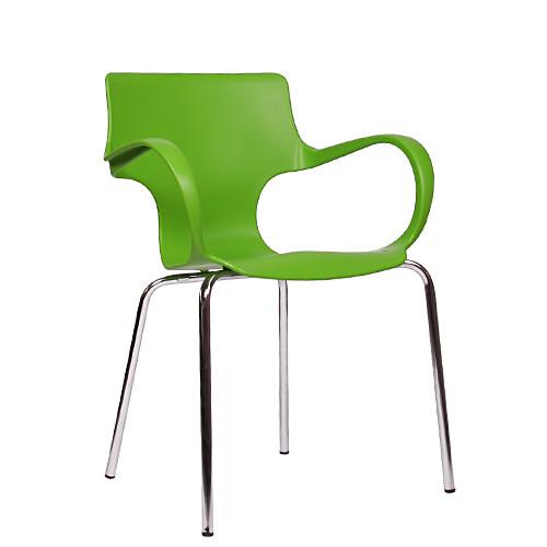 Armlehnen Stuhl FLORES grün