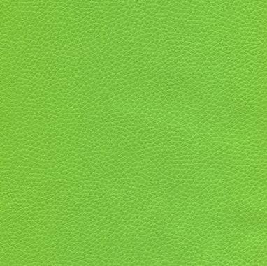 Kunstleder mit Prägung für Möbel und Polster - BRC3 apfelgrün - schwer entflammbar