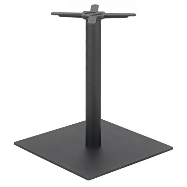 eckiges Tischgestell SALENTO 60  aus massivem Stahlblech