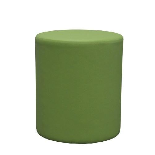 Polsterhocker CUBO D - Wollstoff (Filz ähnlich) grün