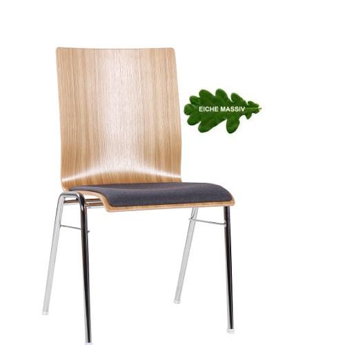 Konferenzstuhl | Stuhl Wartebereich. Sitz gepolstert