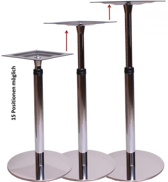 höhenverstellbare Tischgestelle Stehtischgestelle BARI | Tisch Metalltisch Stehtisch höhenverstellbar