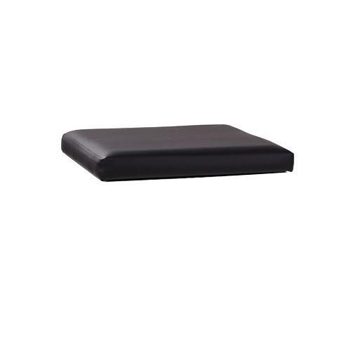 Sitzpolster für Hocker QUATRO FLEX - Kunstleder schwarz