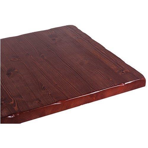 Tischplatte Kiefer massiv Antiklook
