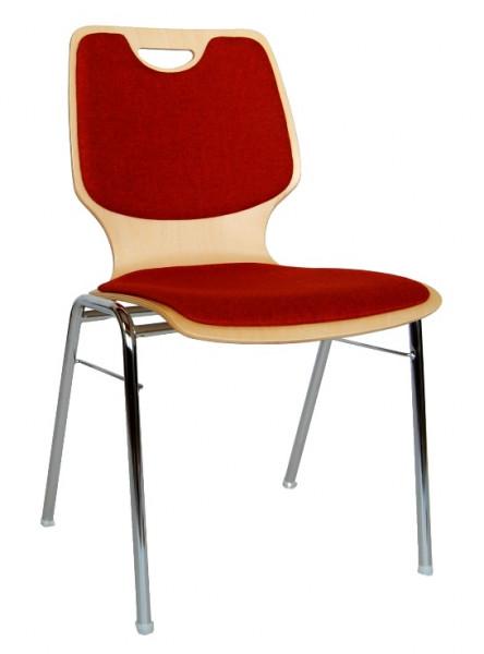 Stapelstuhl gepolstert für Hallen- und Saalbestuhlungen COMBISIT A20G SRP
