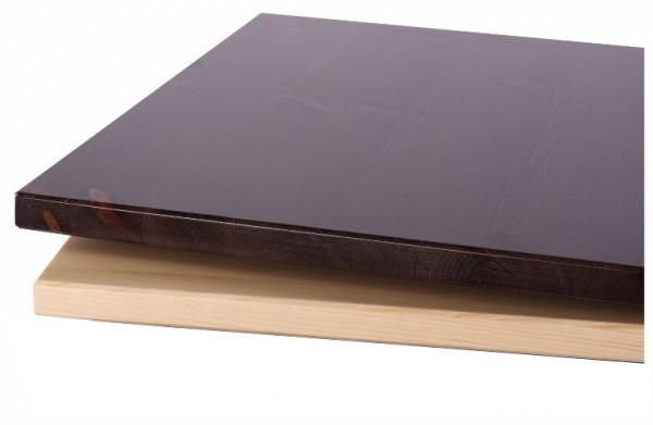 Massivholz-Tischplatte Kiefer massiv  - 40 mm stark
