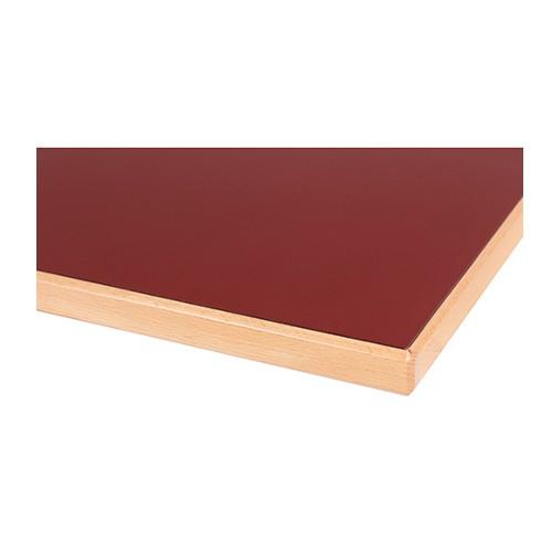 HPL beschichtete Laminat Tischplatte mit Massivholzkante