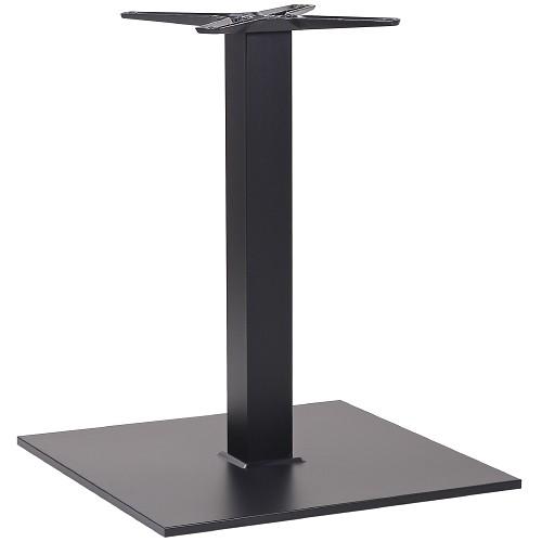 Tischgestell PADUA 60 aus hochwertigem Stahl - pulverbeschichtet in schwarz