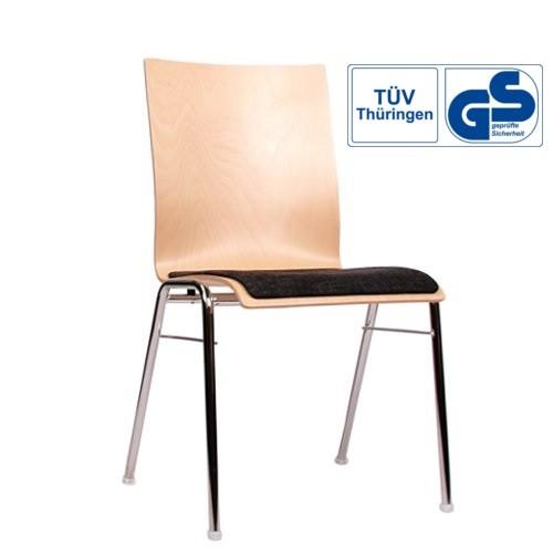 Holzschalenstuhl / Stapelstuhl COMBISIT A40 SPA