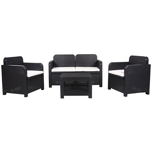 Lounge-Sitzgruppe SORRENTO 4-teilig   Couchen & Couchtische ...