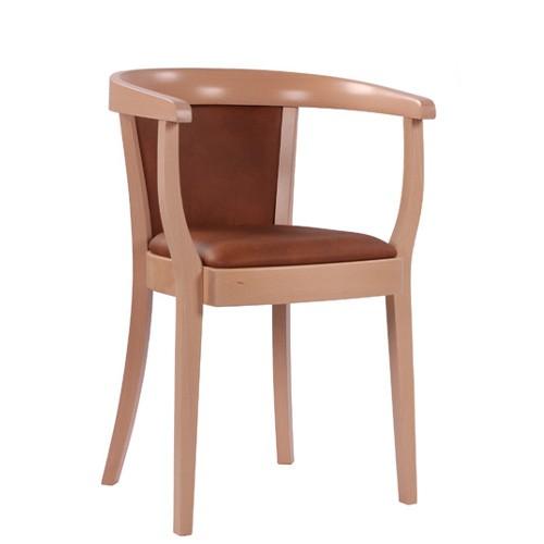 klassischer Sessel | Café Sessel | Bugholzsessel | Holzstuhl mit Armlehnen