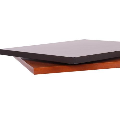 Tischplatte MDF mit Echtholzfurnier Buche  - 30 mm stark