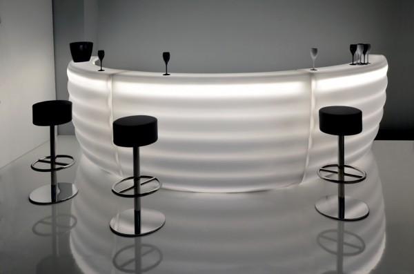 Bartheke beleuchtet STAR - Bar beleuchtet