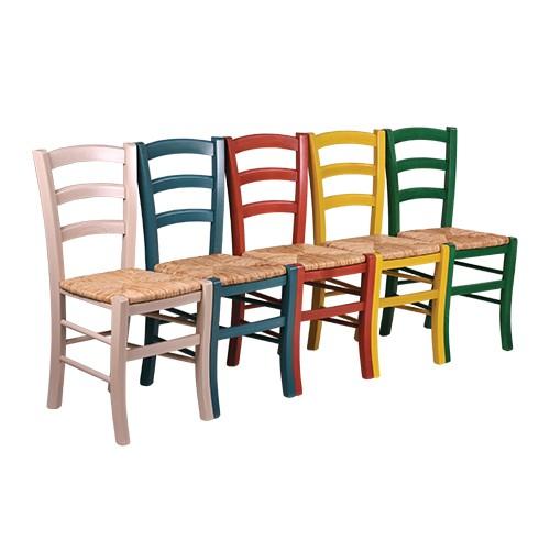 Gastro Restaurant Stuhl mit Reisstrohsitz | traditionelle Stühle Holzstühle