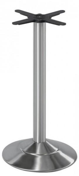 Modernes Stehtischgestell EMBO IX für den Innen- und Außenbereich geeignet