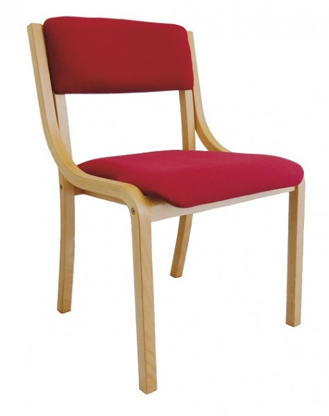 Konferenzstuhl stapelbar | Stapelstuhl | Besucherstuhl | Wartezimmerstuhl LENA