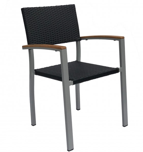 Stuhl mit Armlehnen TIMOR W  - stapelbar