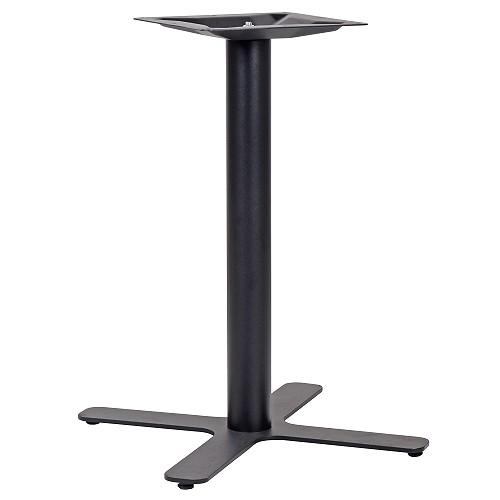 Stabiles Tischgestell LEVONA pulverbeschichtet in schwarz matt
