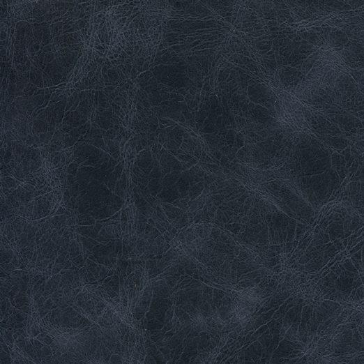 Rindleder für Möbel in Antiklook blau