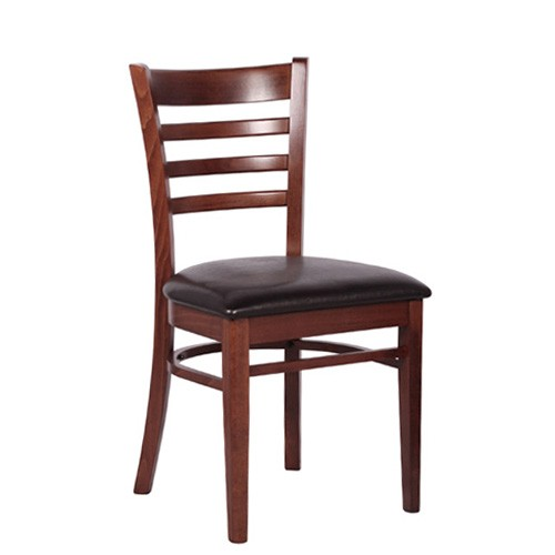 klassischer, stabiler und bequemer Restaurant Stuhl