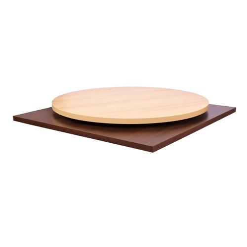Klassische Melamin-Tischplatten für Restaurant,Bistro und Café