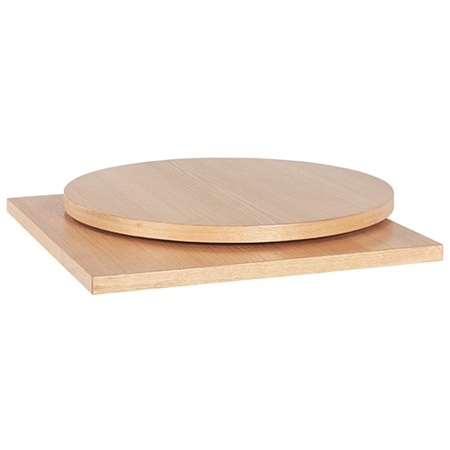 MDF Tischplatte mit Eichenholz-Furnier
