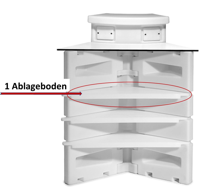 incl. 1 Ablageboden