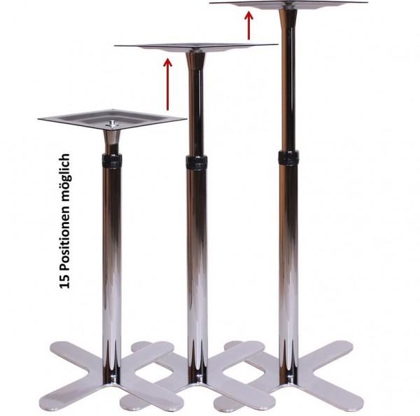 Tischgestell & Stehtischgestell höhenverstellbar | höhenverstellbare Tischgestelle Stehtischgestelle