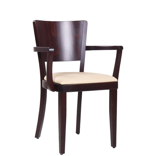 Gastronomie-Stuhl mit Armlehnen JAKOB AL