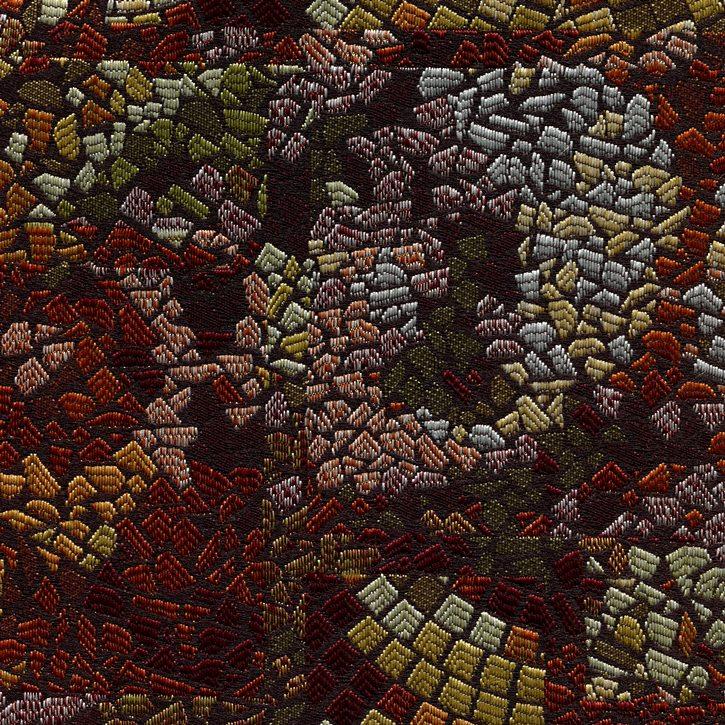 braun/grün/orange Mosaik25