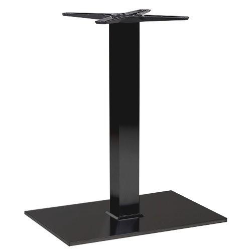 robustes Tischgestell | Tischbein PADUA 64 - pulverbeschichtet in schwarz