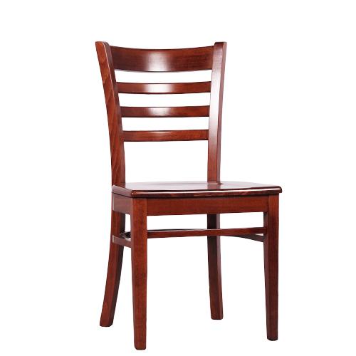 Massivholz Stuhl Stuhl Für Bistro Und Restaurant