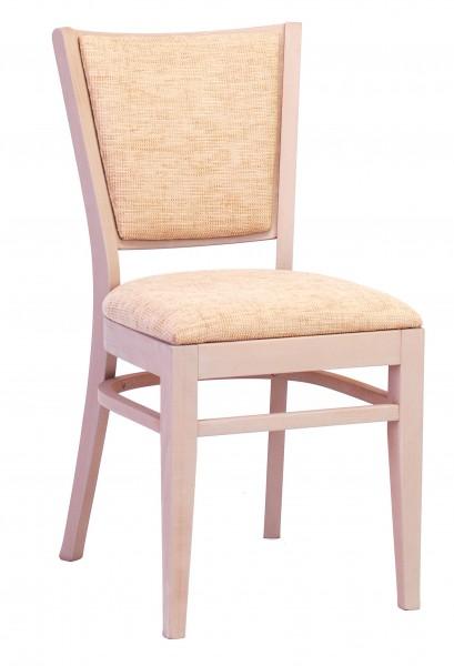 Bistrostuhl | Gastronomiestuhl, Sitz und Rückenlehne gepolstert