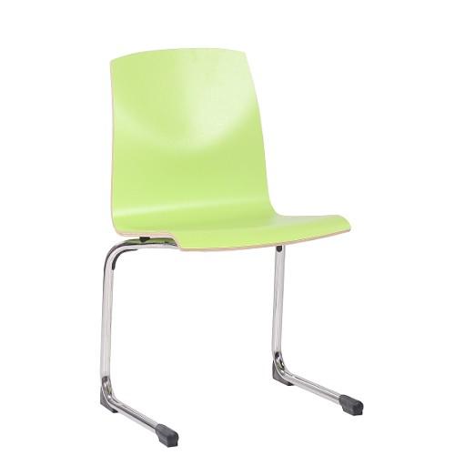 Kufenstuhl GREGOR Sitzschale HPL