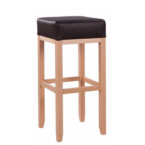 stabiler Barhocker mit großer Sitzfläche geeignet für Gastronomie