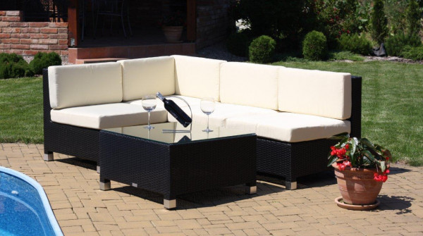 Lounge-Sitzgruppe DELOS 4-teilig