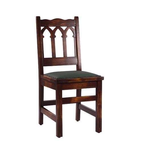 rustikale Holzstühle | Massivholzstühle | Wirtshausstühle antikbraun