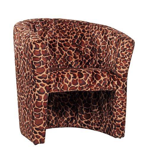 Sessel Leopard Muster CARLO