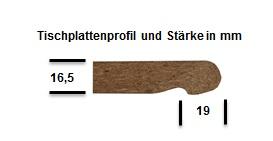Tischplattenst stiprumo-Topalit-SMARTLINEMXFsOYMNUUaLT