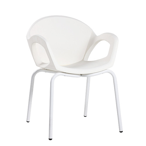 Designer-Sessel PEPPER weiß