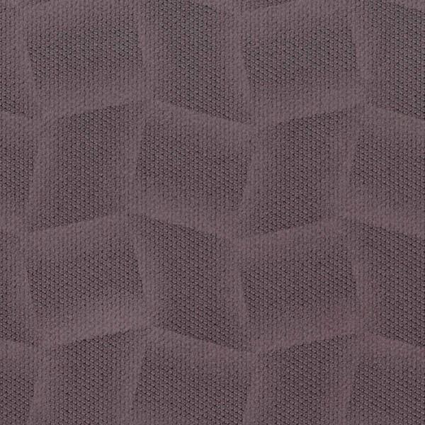 Mikrofaser-Stoff mit attraktiven geometrischen Mustern flieder