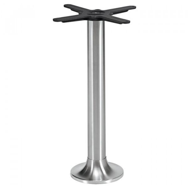 Tischgestell NAVEX IX Edelstahl für Bodenmontage