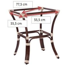 Tischgestell-BAMBU-4_-Abmessungen