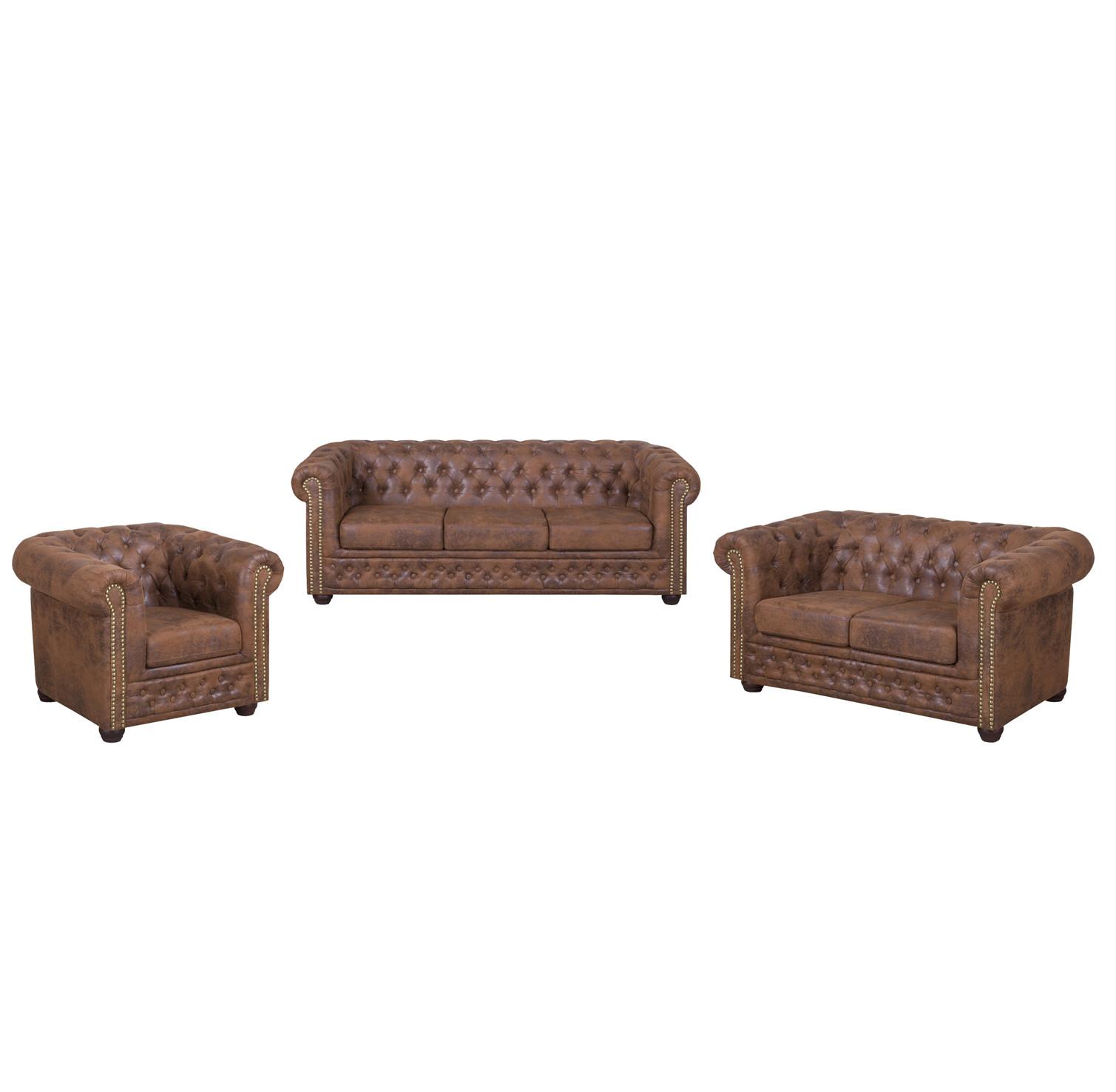 Garnitur 1-2-3 Sitzer